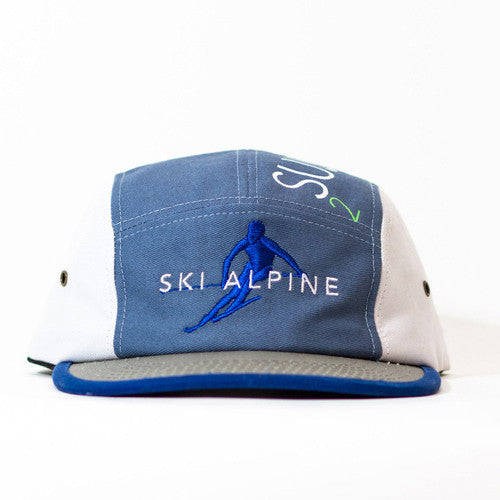 <!--020140813065037-->Sun Cycle Limited - 'Ski Alpine' [(Multi-Color) Five Panel Camper Hat]