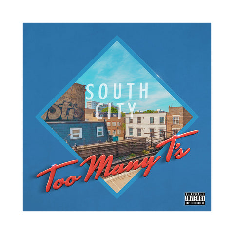 "[""Too Many T's - 'South City Court' [(Black) Vinyl LP]""]"