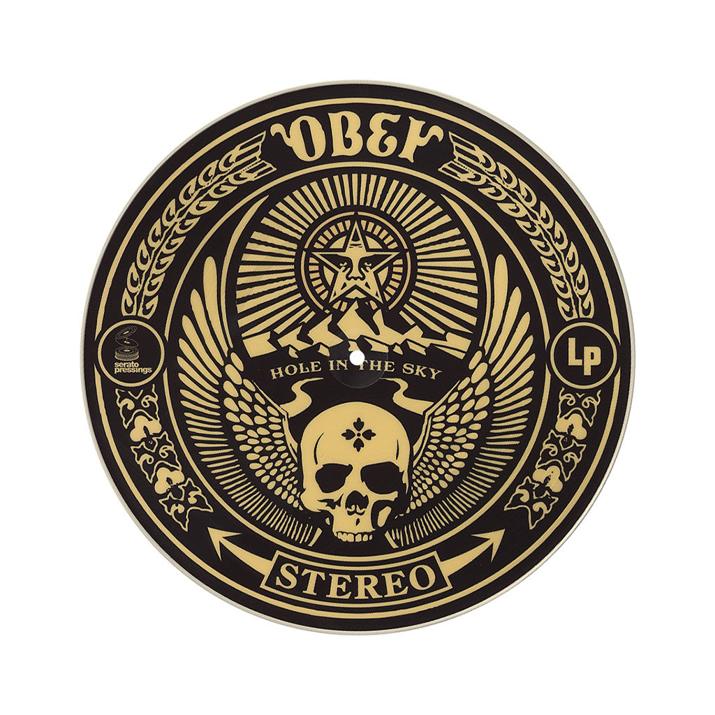 "Shepard Fairey x Serato Pressings - 'Obey Giant' [(Picture Disc) 12"" Vinyl Control [2x12""]]"