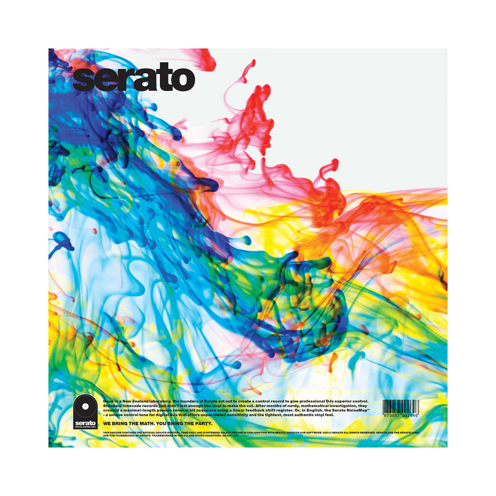 "<!--020130913061384-->Serato - 'Lost Your Marbles - Clearly LYM' [(Clear w/ Red, Blue & Yellow) 12"" Vinyl Control [2x12""]]"