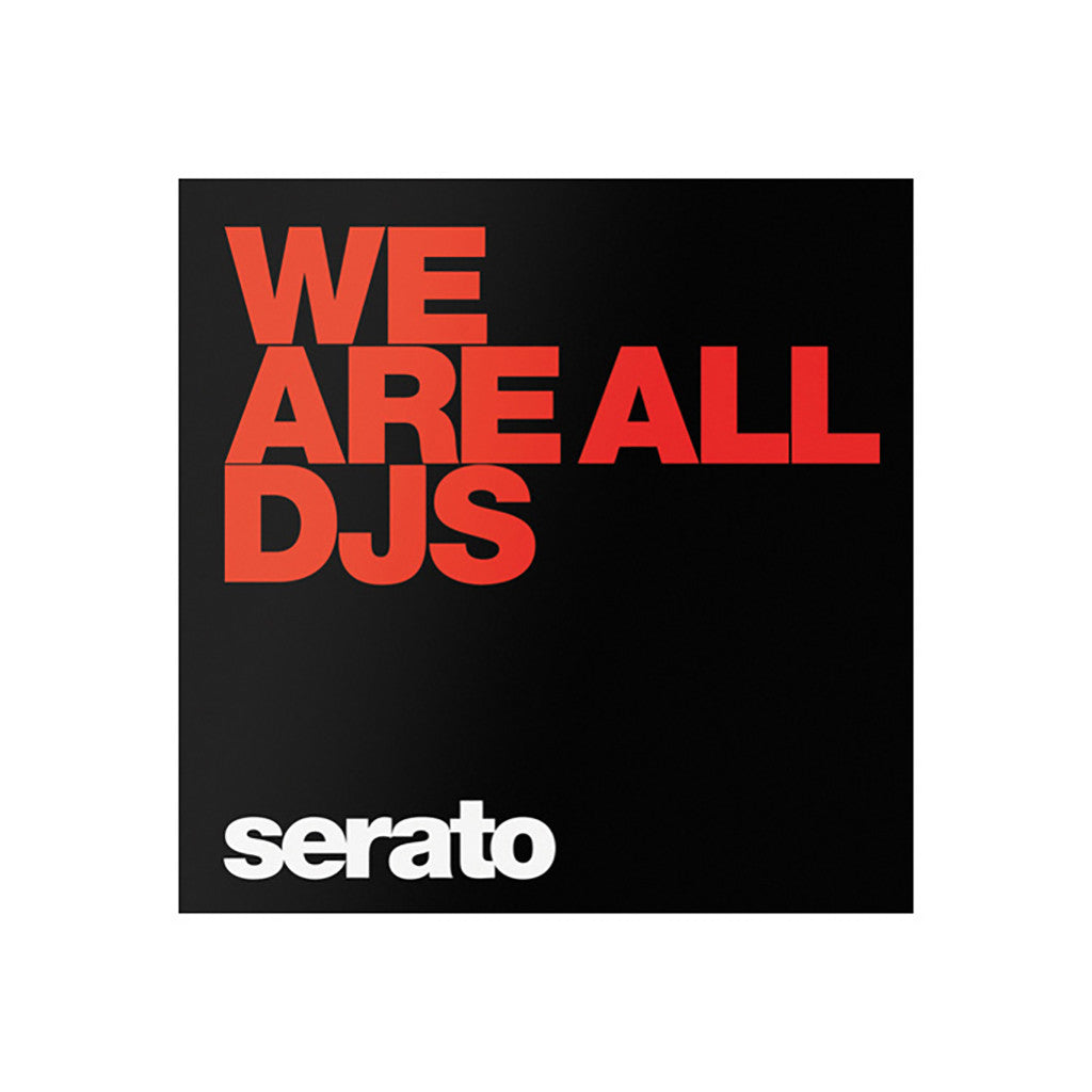 "<!--019000101059245-->Serato - '10"" Performance Series - We Are All DJs' [10"" Vinyl Control [2x10""]]"