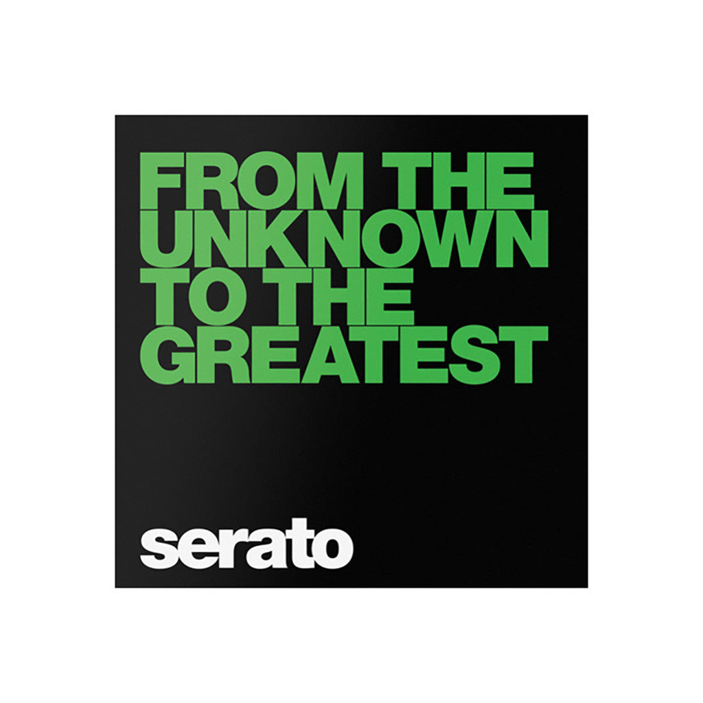 "<!--019000101059246-->Serato - '10"" Performance Series - From The Unknown To The Greatest' [10"" Vinyl Control [2x10""]]"