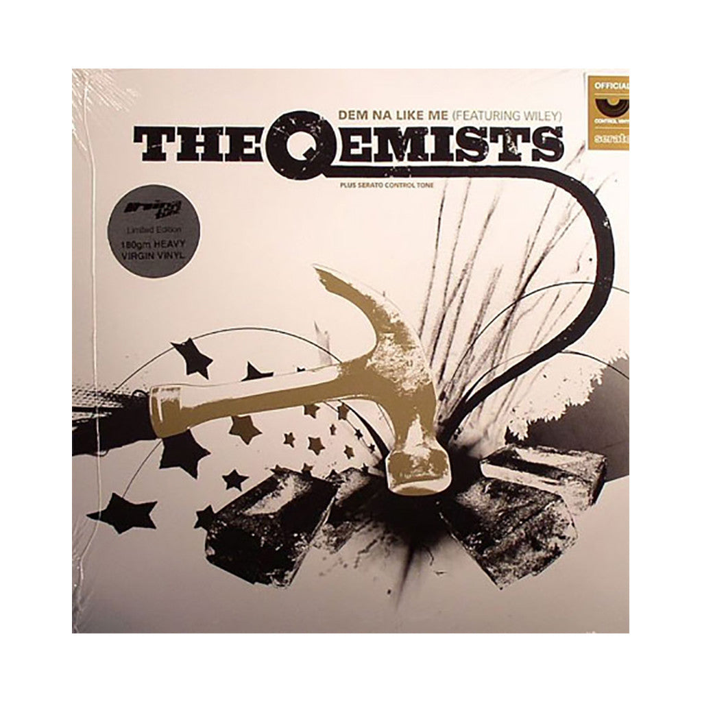 "<!--020090203000723-->The Qemists x Serato Pressings - 'Dem Na Like Me' [(Black) 12"" Vinyl Control]"
