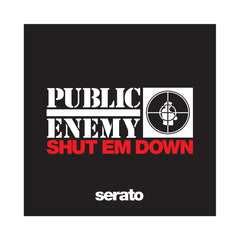 "<!--2013121716-->Public Enemy x Serato Pressings - 'Shut Em' Down' [(Picture Disc) 12"" Vinyl Control [2x12""]]"