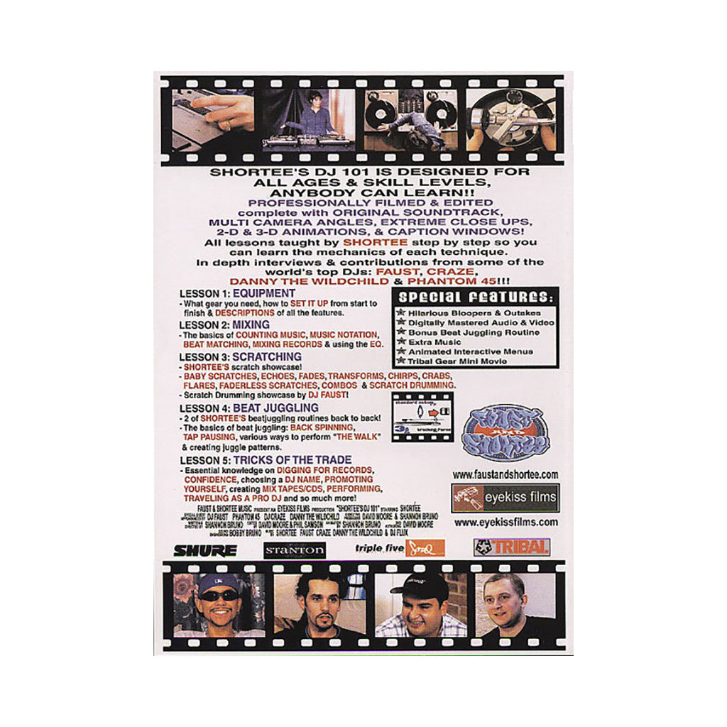 <!--020020101006626-->Shortee - 'DJ 101: A Complete Guide To Becoming A Well Rounded DJ' [DVD]