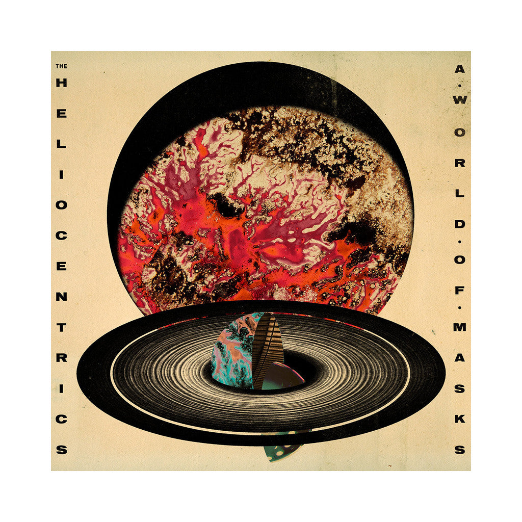 The Heliocentrics - 'A World Of Masks' [(Gold) Vinyl LP]