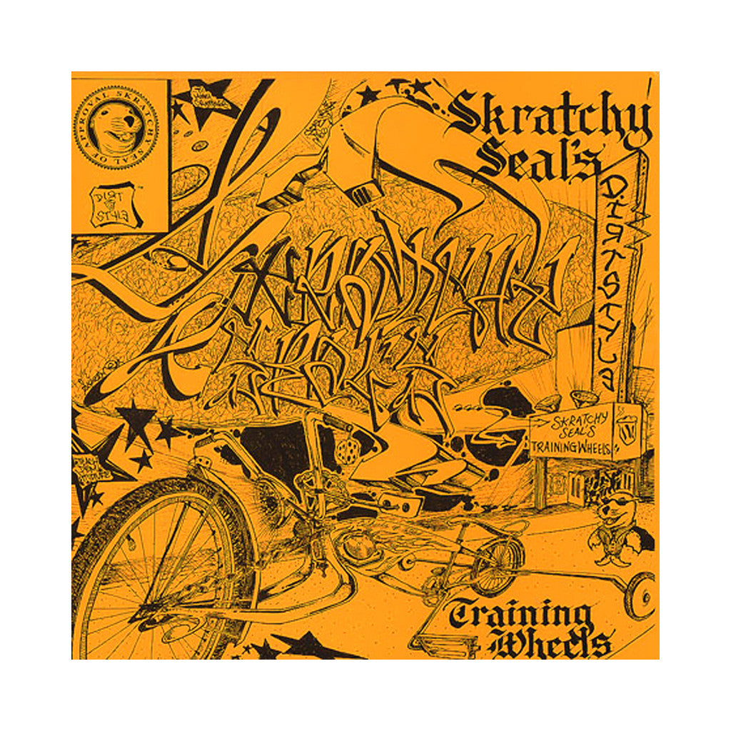 Skratchy Seal - 'Skratchy Seal's Training Wheels' [(White) Vinyl LP]