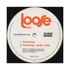 "Loose Shus - 'Threesome/ Threesome (Xinobi Remix)/ Taurus/ Taurus (Keenhouse Remix)/ Mmmmmm' [(Black) 12"" Vinyl Single]"