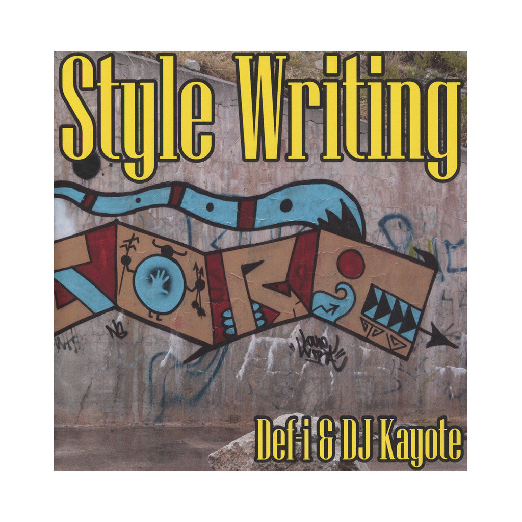 "Def-i & DJ Kayote - 'Style Writing' [(Black) 7"" Vinyl Single]"