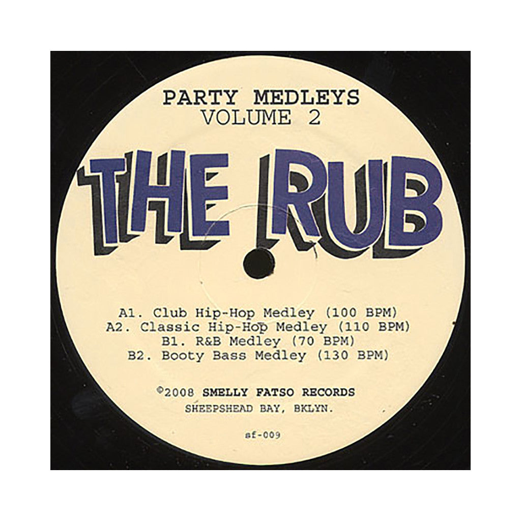<!--020081223015664-->The Rub - 'Party Medleys Vol. 2' [(Black) Vinyl EP]