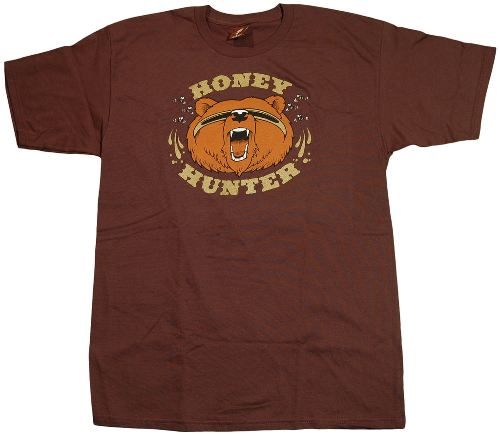 <!--2011052446-->superFishal - 'Honey Hunter' [(Brown) T-Shirt]