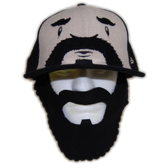 <!--2012051537-->superFishal - 'Cheer The Beard w/ Detachable Beard' [(Black) Fitted Hat]