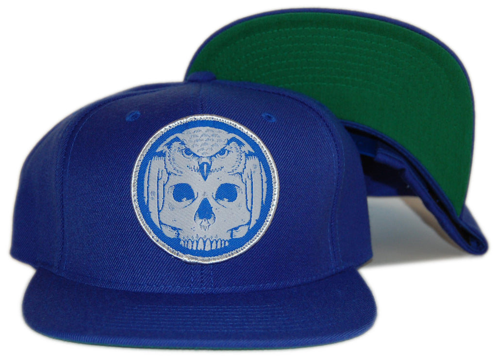 <!--020120814047584-->superFishal - 'Wisdome' [(Blue) Snap Back Hat]