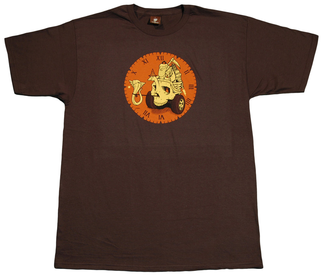 <!--2012051519-->superFishal - 'Father Time' [(Brown) T-Shirt]
