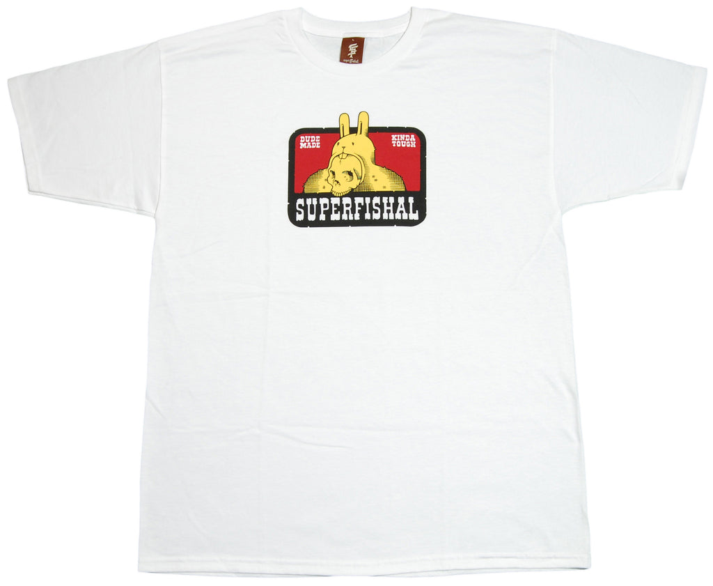 <!--2012041036-->superFishal - 'Kinda Tough' [(White) T-Shirt]