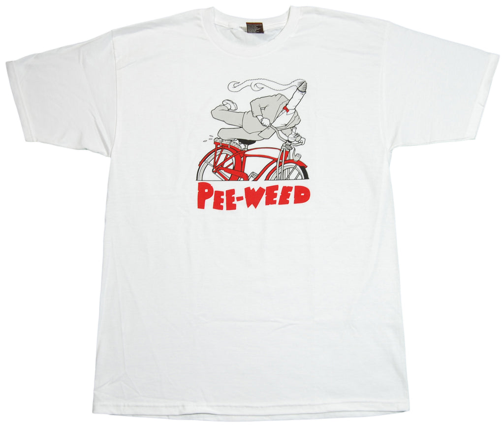 <!--2012051554-->superFishal - 'Pee Weed' [(White) T-Shirt]