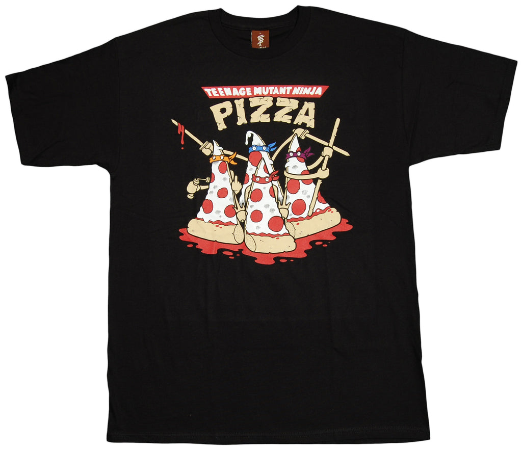 <!--2012091816-->superFishal - 'Mutant Pizza' [(Black) T-Shirt]
