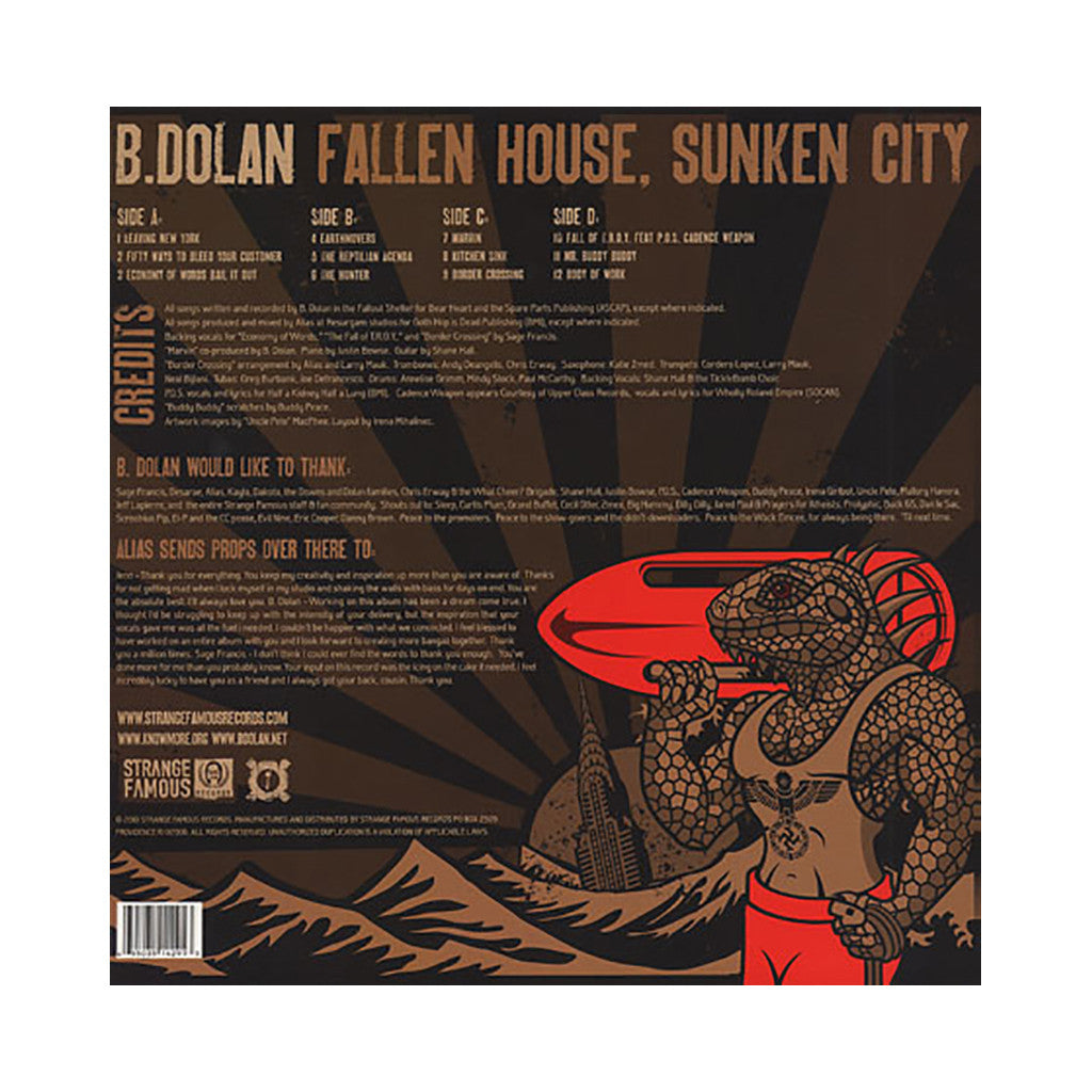 <!--020100601020432-->B. Dolan - 'Fallen House, Sunken City' [(Black) Vinyl [2LP]]