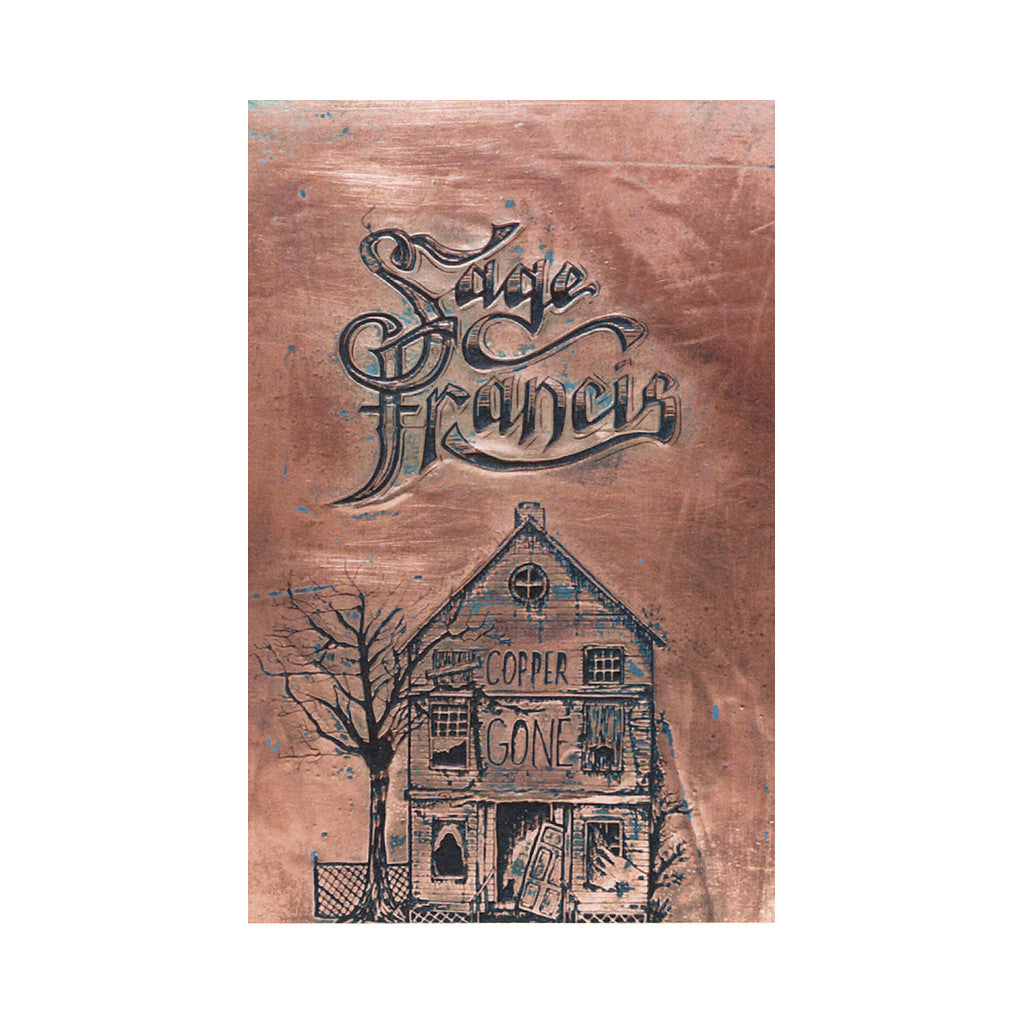 <!--2014060304-->Sage Francis - 'Copper Gone' [(Cyan) Cassette Tape]