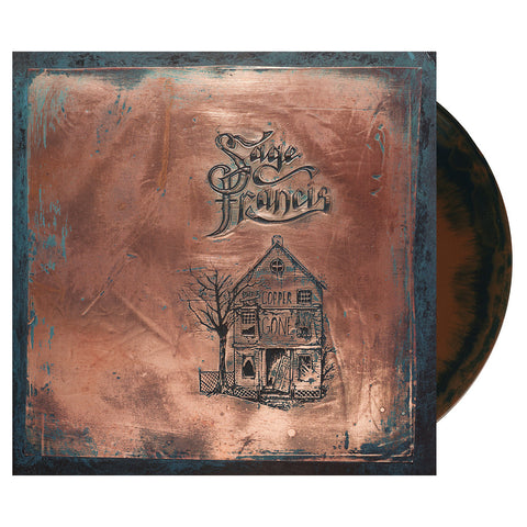 Sage Francis - 'Copper Gone' [(Mixed Copper & Blue) Vinyl [2LP]]