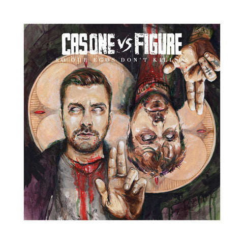 Cas One vs Figure - 'So Our Egos Don't Kill Us' [(Black) Vinyl LP]