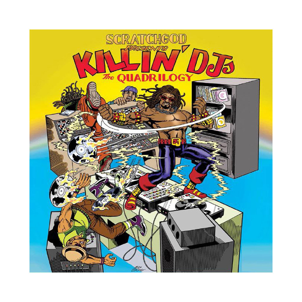 Ruckazoid - 'Scratchgod Presents: Killin' DJ's: The Quadrilogy' [(Black) Vinyl LP]