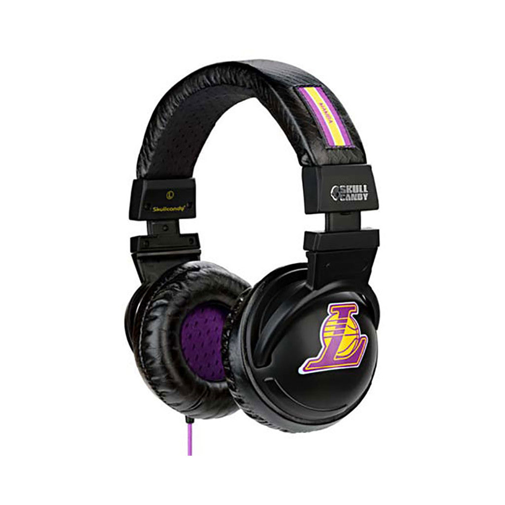 <!--020091229019805-->Skullcandy: Player Series x NBA: Los Angeles Lakers - 'Kobe Bryant Black Hesh w/ Mic' [(Lakers) Headphones]