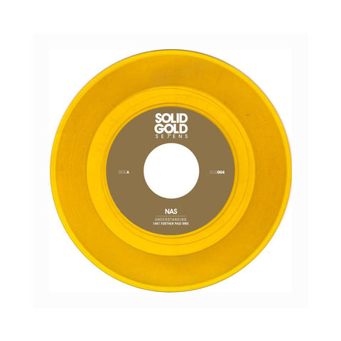 "Nas - 'Understanding (14KT Remix)' [(Clear Gold) 7"" Vinyl Single]"