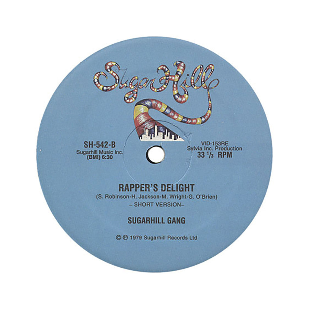 "<!--1979010135-->Sugarhill Gang - 'Rapper's Delight' [(Black) 12"" Vinyl Single]"
