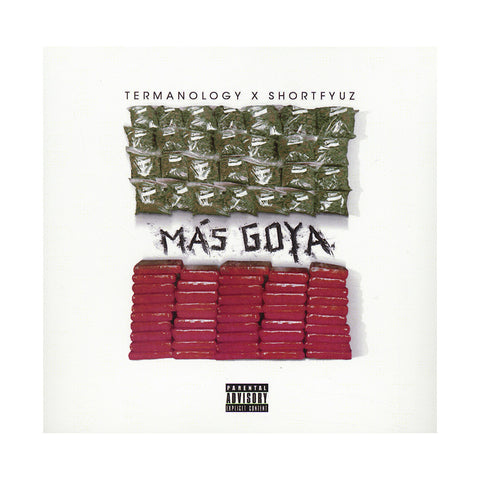 Termanology w/ Shortfyuz - 'Mas G.O.Y.A. EP' [CD]