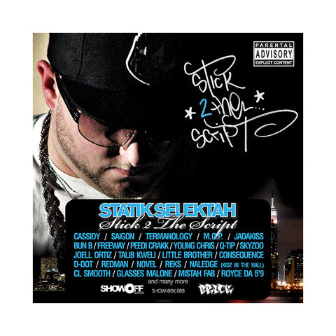 Statik Selektah - 'Stick 2 The Script' [CD]