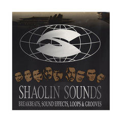 <!--019000101011619-->Shaolin Sounds - 'Breakbeats, Sound Effects, Loops & Grooves (Used By Wu-Tang Clan) Vol. 1 (Black Cover - A & B)' [(Black) Vinyl LP]