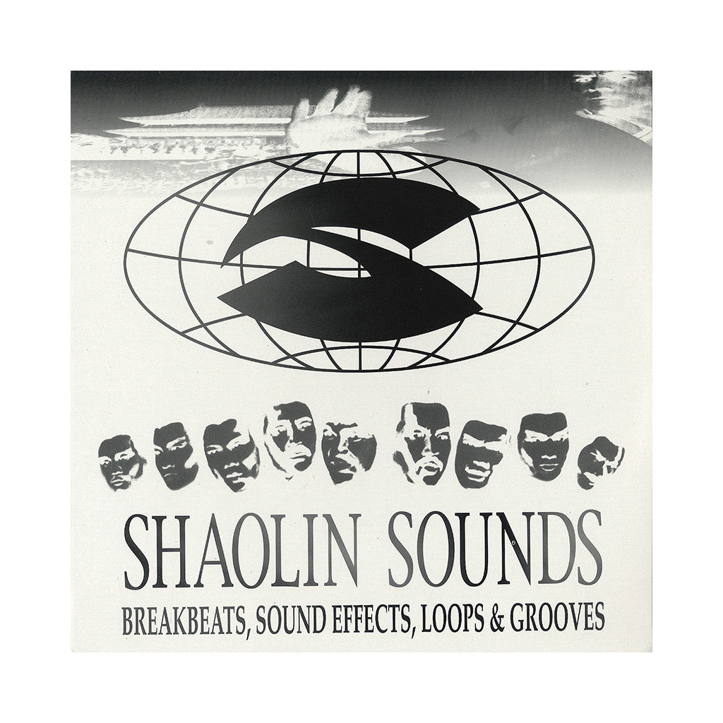 <!--019000101011618-->Shaolin Sounds - 'Breakbeats, Sound Effects, Loops & Grooves (Used By Wu-Tang Clan) Vol. 1 (White Cover - C & D)' [(Black) Vinyl LP]