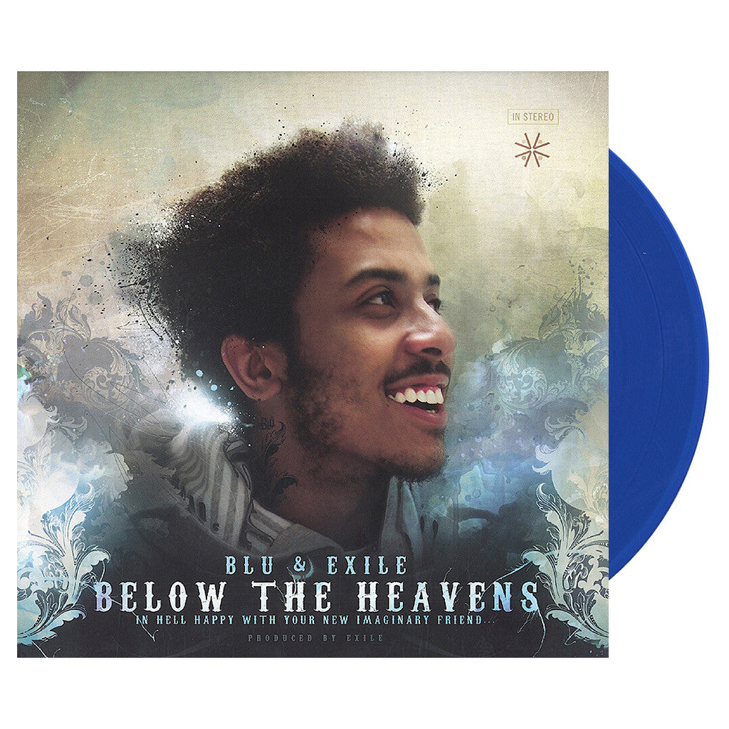 Blu & Exile - 'Below The Heavens' [(Blue) Vinyl [2LP]]