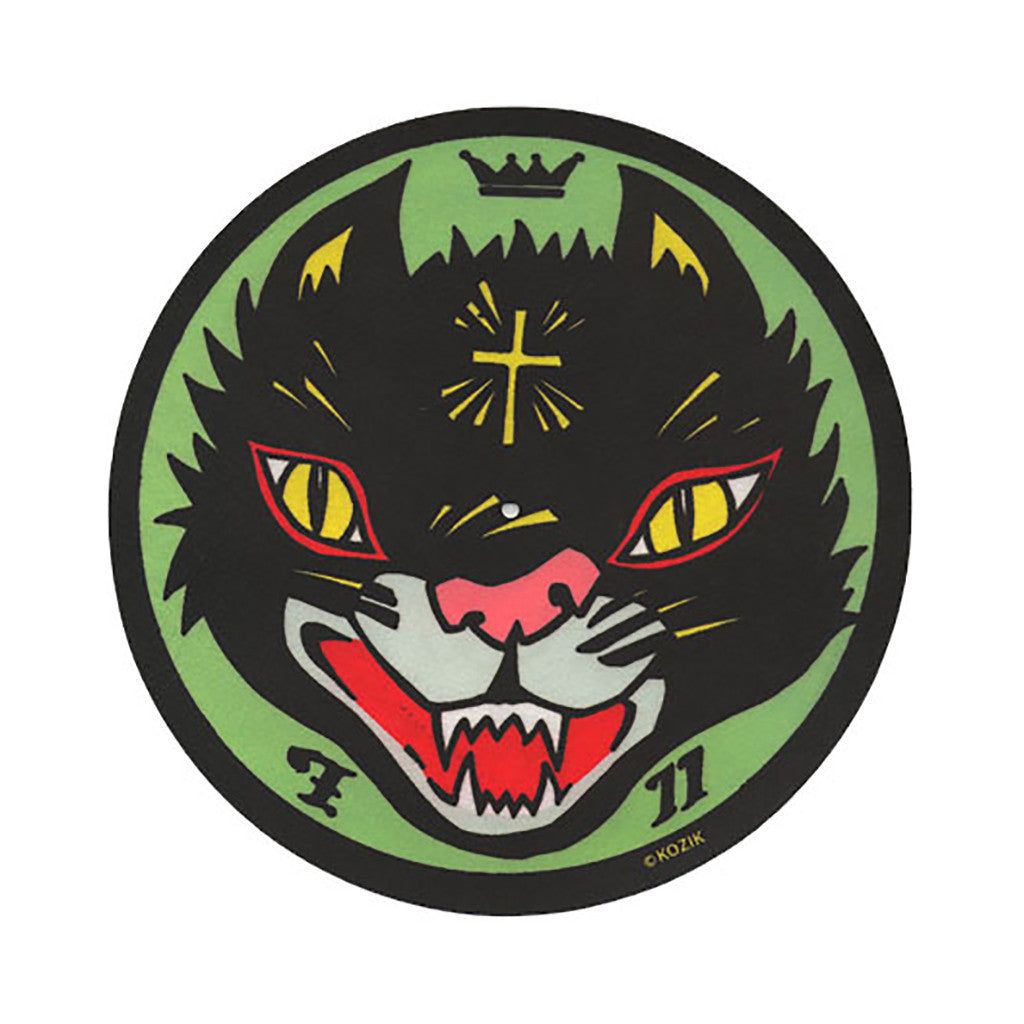 <!--019000101011596-->Sicmats (Kozik) - 'Black Cat' [Slipmat]