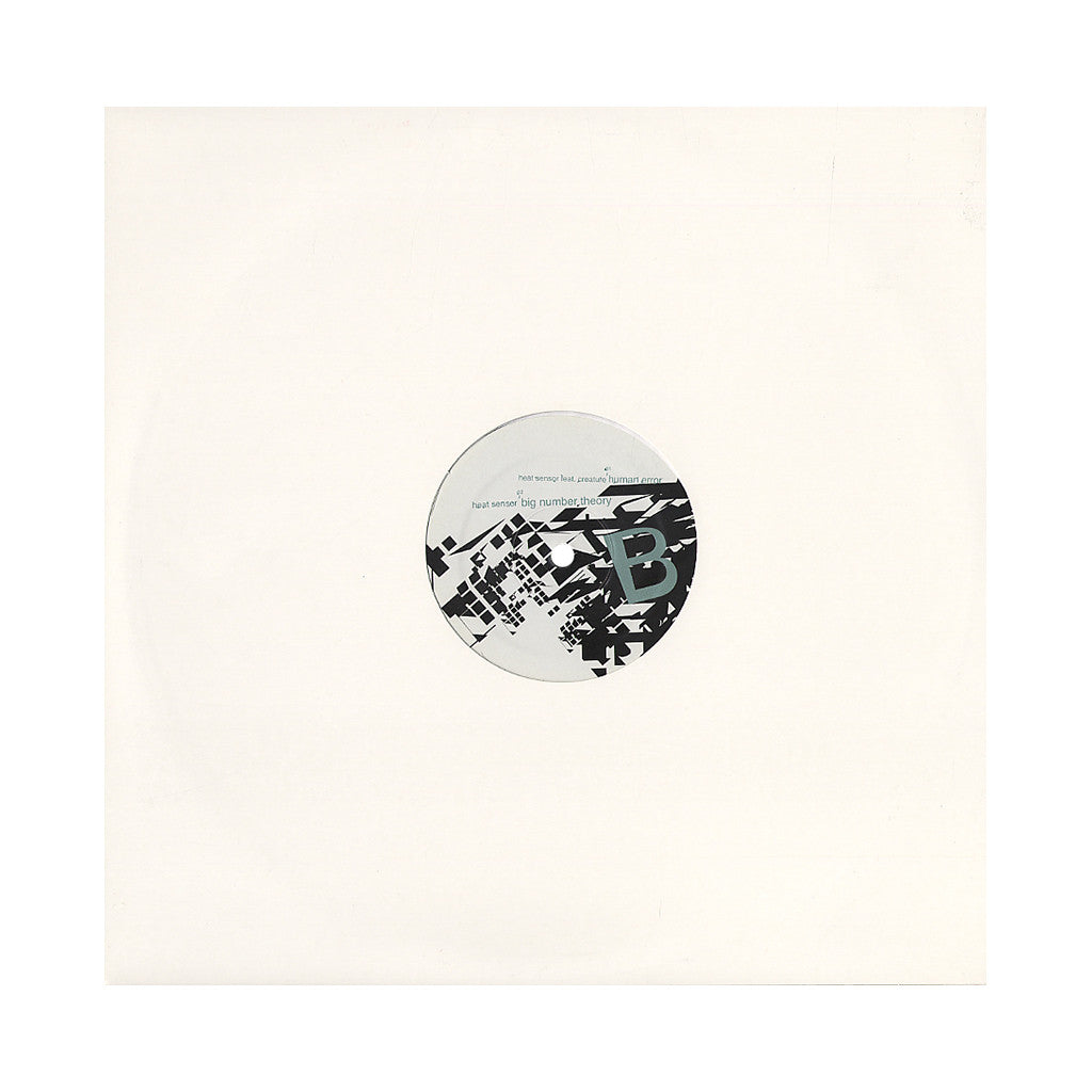 "King Honey b/w Heat Sensor - 'Monday Night At Fluid b/w Human Error/ Big Number Theory' [(Black) 12"" Vinyl Single]"