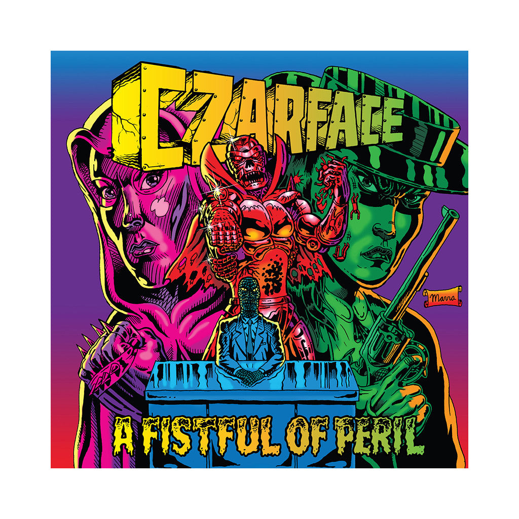 <!--120161104074263-->CZARFACE - 'A Fistful of Peril' [CD]