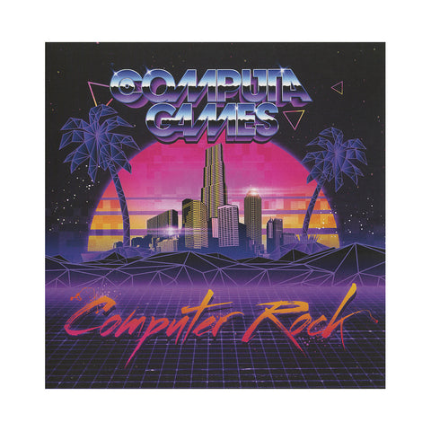 "Computa Games - 'Computer Rock/ Computer Rock (West Coast Mix)' [(Black) 7"""" Vinyl Single]"