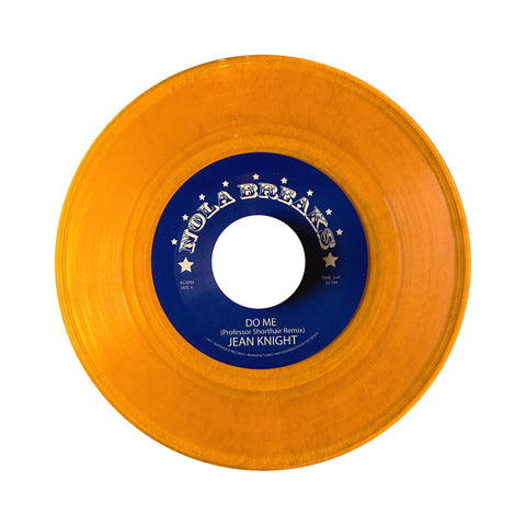 "The Meters b/w Jean Knight - 'NOLA Bounce Breaks Vol. 4' [(Orange) 7"" Vinyl Single]"