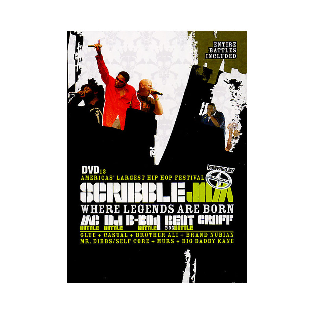 <!--020070904010338-->Scribble Jam - 'Vol. 13 (Scribble Jam 2006)' [DVD]