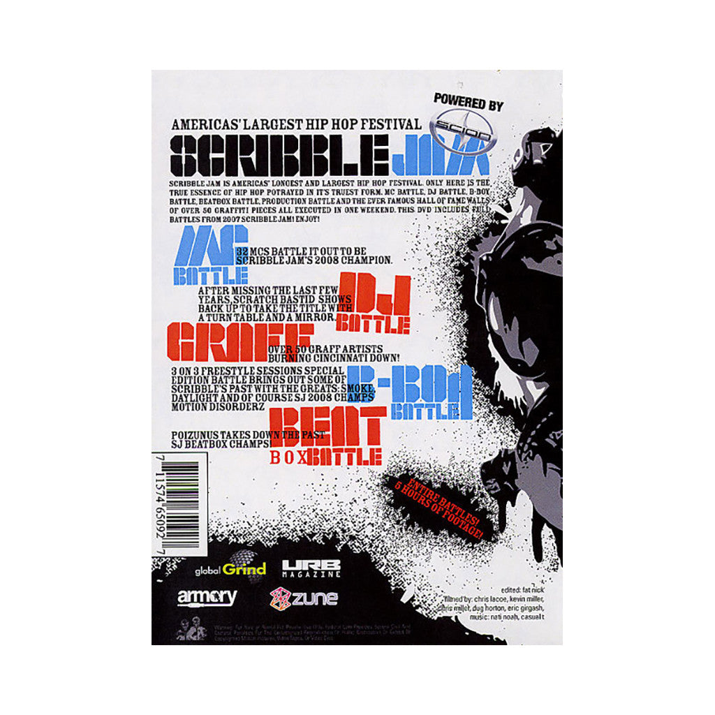 <!--2009011303-->Scribble Jam - 'Vol. 14 (Scribble Jam 2007)' [DVD]