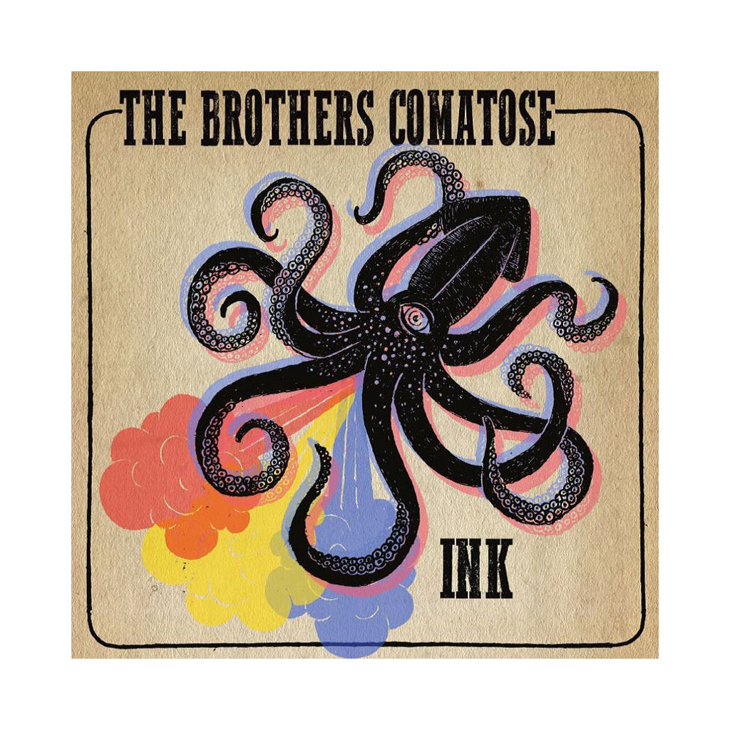 "The Brothers Comatose - 'Ink' [(Black) 10"" Vinyl Single]"