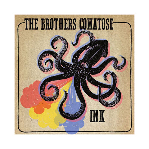 "[""The Brothers Comatose - 'Ink' [(Black) 10\"" Vinyl Single]""]"