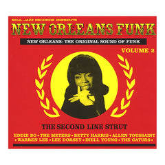 Various Artists - 'New Orleans Funk Vol. 2: The Original Sound Of Funk: The Second Line Strut' [CD]