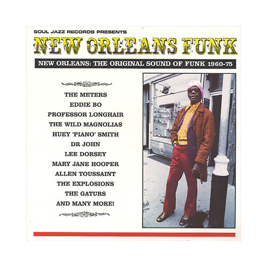 Various Artists - 'New Orleans Funk Vol. 1: The Original Sound Of Funk: 1960-1975' [(Black) Vinyl [3LP]]