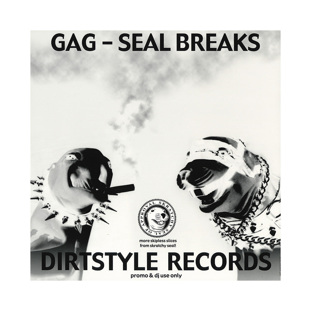 <!--020010101011236-->Skratchy Seal - 'Gag-Seal Breaks' [(Black) Vinyl LP]