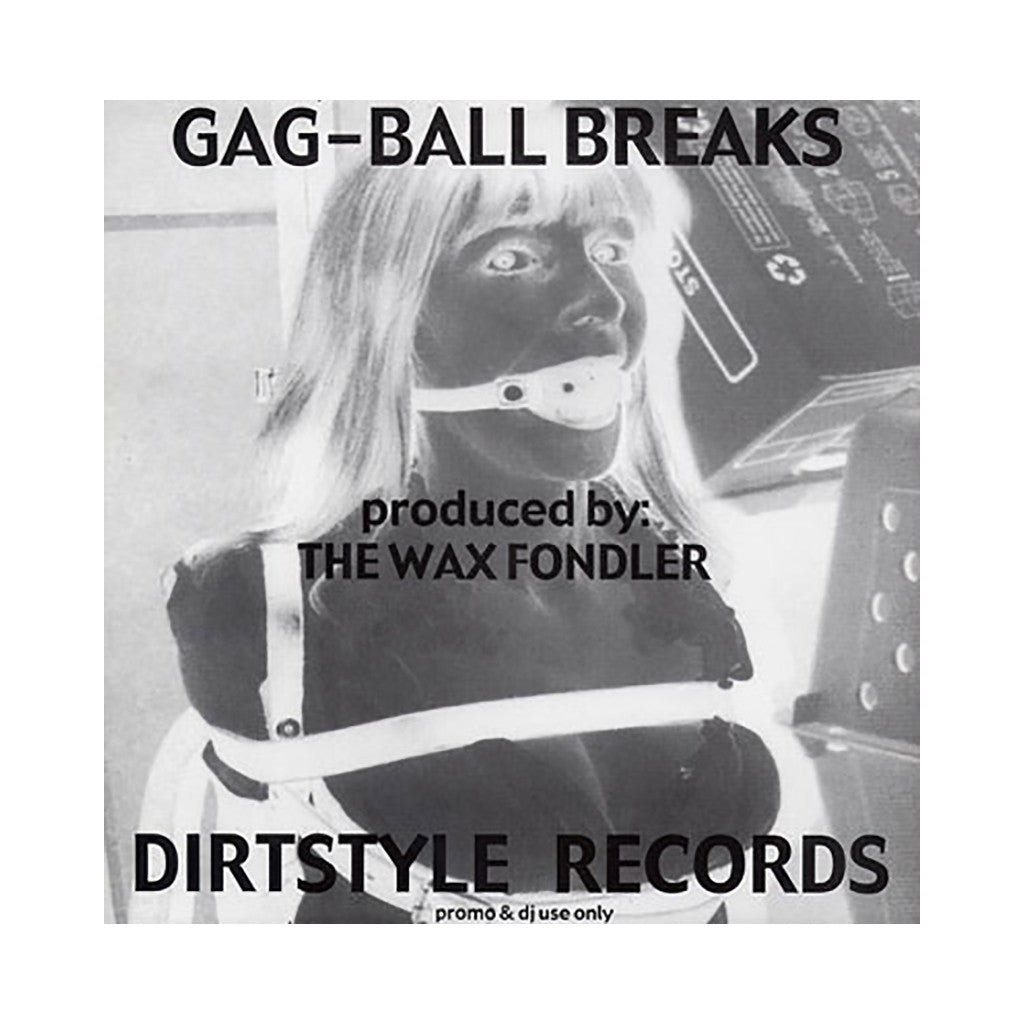<!--020020101016485-->Wax Fondler - 'Gag-Ball Breaks' [(Black) Vinyl LP]