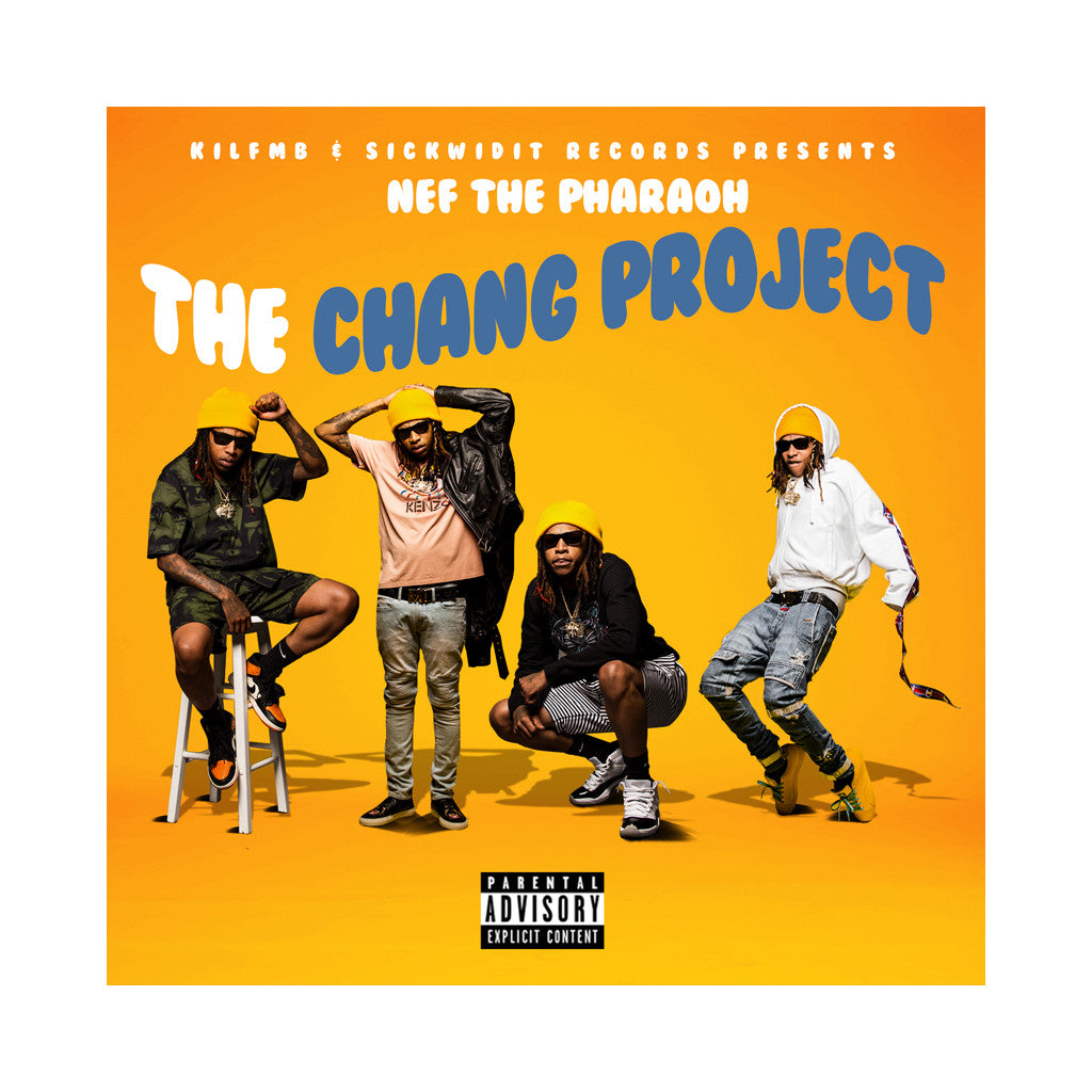 Nef The Pharaoh - 'The Chang Project' [CD]