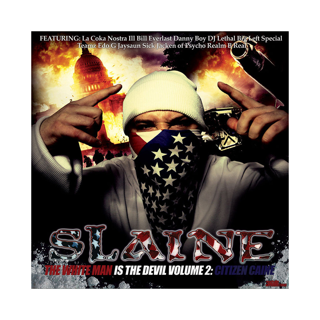 <!--020061024008483-->Slaine - 'The White Man Is The Devil Vol. 2: Citizen Caine' [CD]