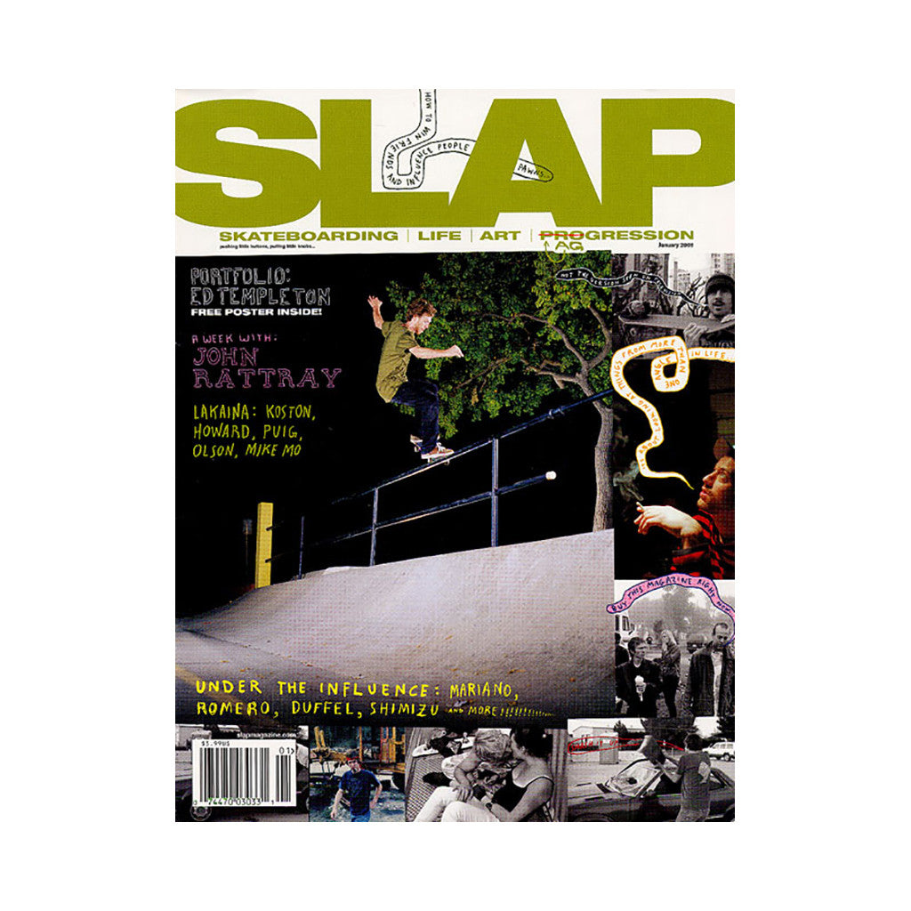 <!--020071207011293-->SLAP (Skateboarding, Life, Art, Progression) - 'Issue 188, January 2008' [Magazine]